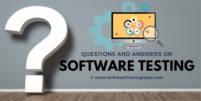 qa on Software testing
