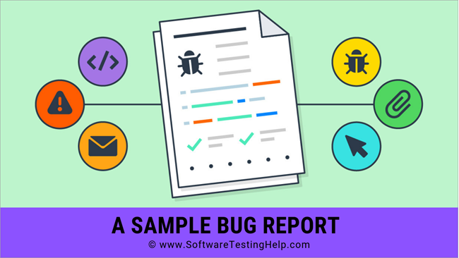 Sample bug report
