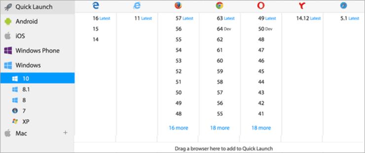 BrowserStack Live