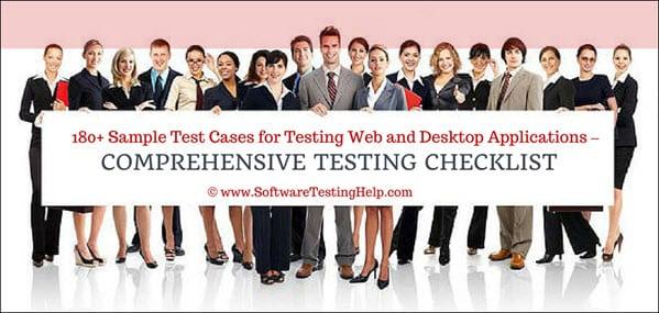 Comprehensive Testing Checklist