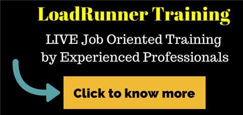 LoadRunner Online training 2