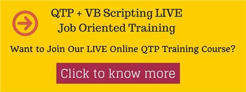 QTP training 1