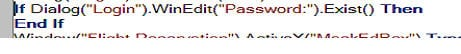QTP Conditional statements Expert view