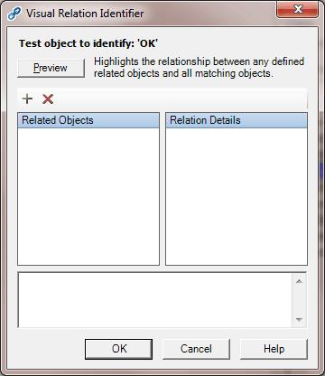 QTP Visual Relation Identifier