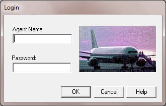 QTP login dialog