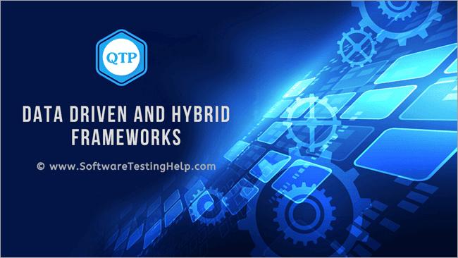 Data Driven and Hybrid Frameworks
