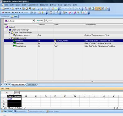 Data driven framework