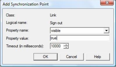 Synchronization point