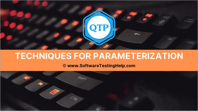 Techniques forParameterization