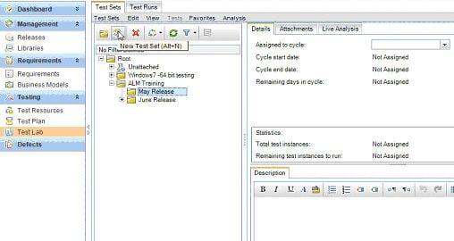 Create test suites