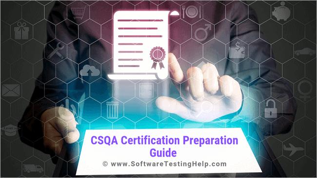 CSQA Certification Preparation Guide