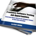 Freelance software testing jobs eBook