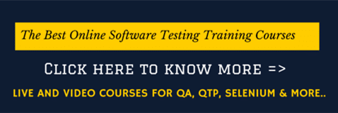 Testing QA Training
