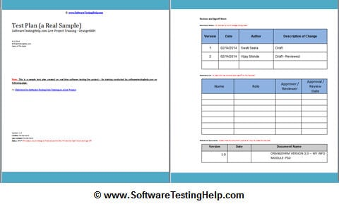 Test plan tutorial a guide to write a software test plan for Software test results template