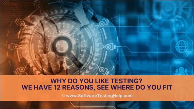 Why Do You Like Testing