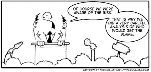 risk management cartoon