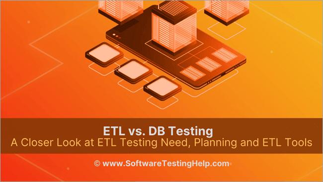 ETL vs. DB Testing