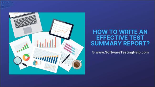 Test Summary Report