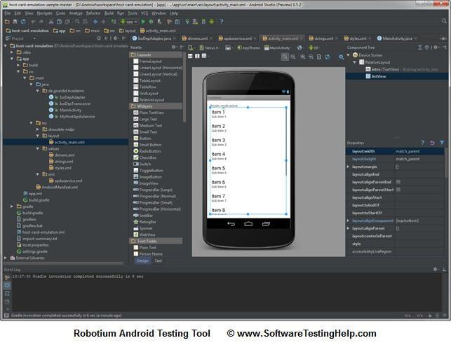 Robotium Android Testing Tool