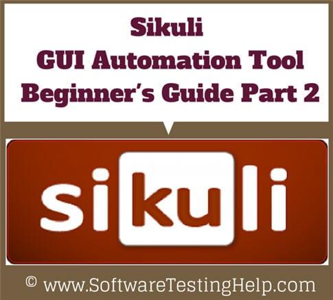 Sikuli GUI Automation tool 2