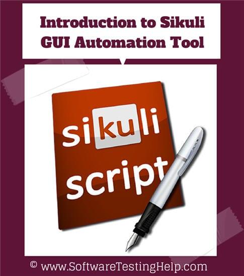 Sikuli GUI Automation tool