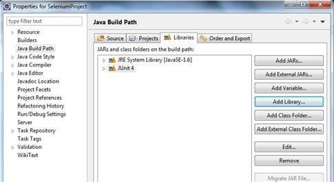 Junit framework Selenium script 4