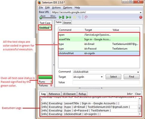 Selenium IDE script 11