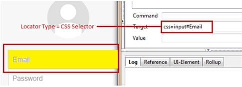Using CSS Selector as a Locator 3