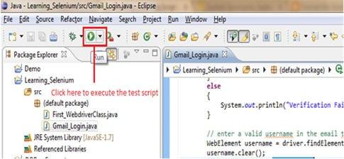 WebDriver tutorial 1