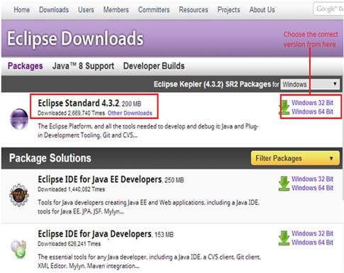 webdriver installtion with eclipse 3