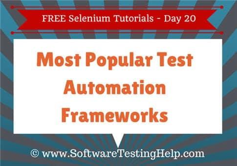 Automation Testing Frameworks