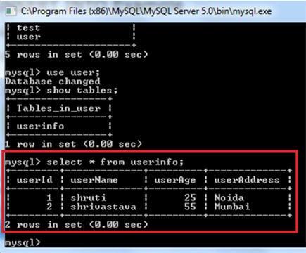 DB testing using Selenium 8