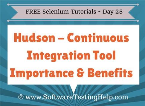 Hudson tutorial