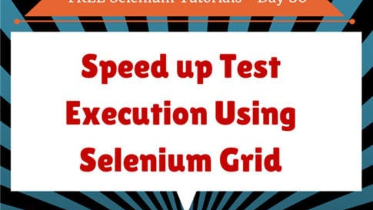 Selenium Grid Tutorial: Setup and Example of Cross Browser