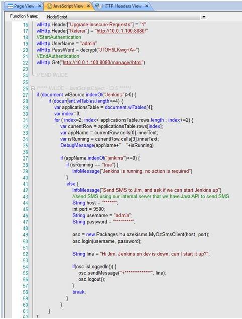 Load Tests with WebLoad 2