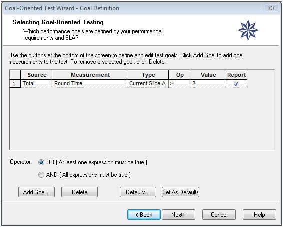 Load Tests with WebLoad 9