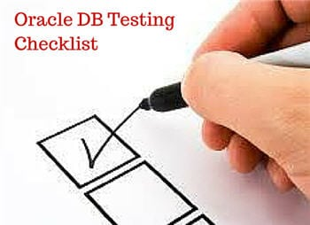 Oracle database testing 4