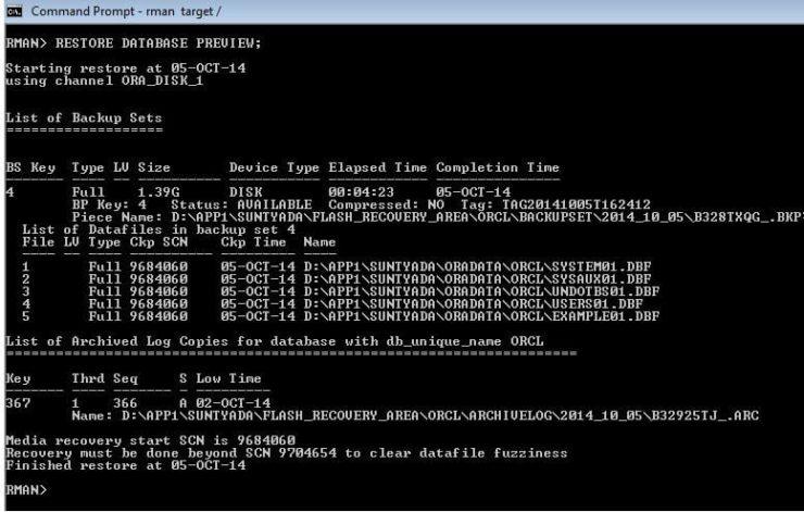 Test database backup 6