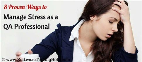 stress management for qa