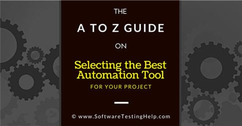 Test Automation Tool Selection Criteria Checklist
