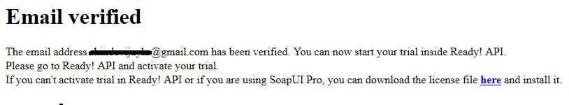 SoapUI Pro License 1