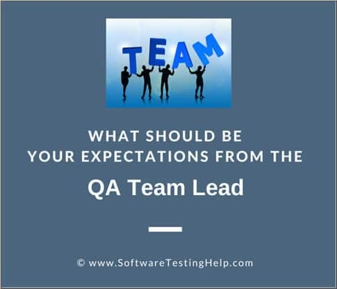 qa team lead
