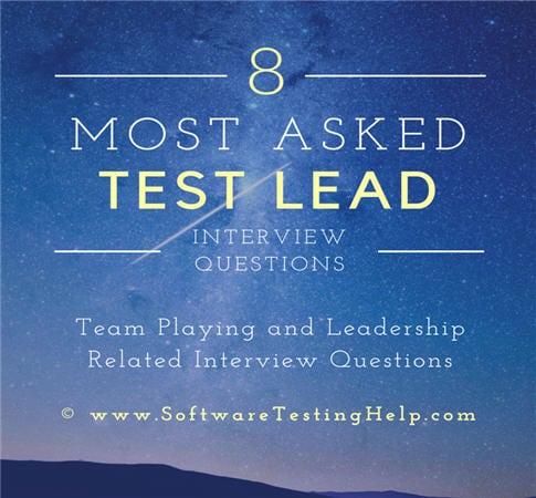 qa lead inteview questions