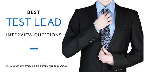 test lead test manager interview questions and answers