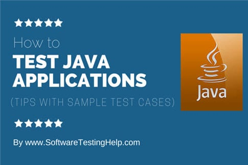 Testing JAVA Applications