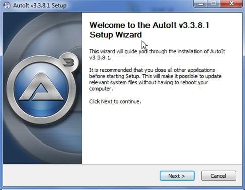 AutoItV3 setup 1