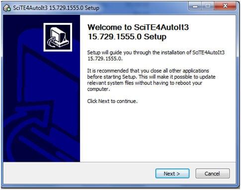 AutoItV3 setup 7