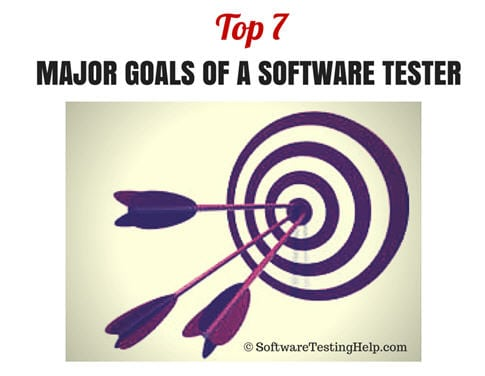 goals of a software tester