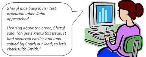 Documenting errors 2