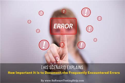 Documenting the Frequently Encountered Errors
